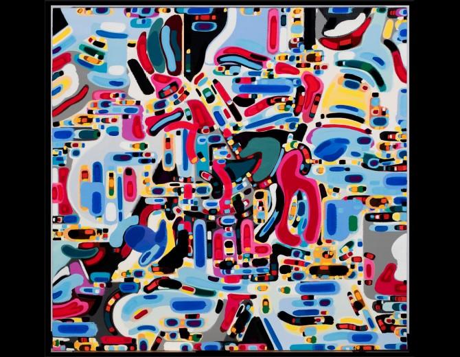 Steven J Oscherwitz - Oil Painting on Artfix Linen